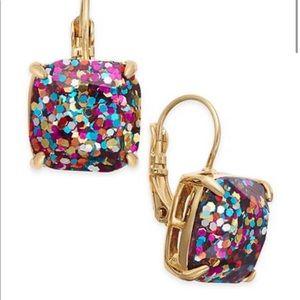 Kate Spade Glitter Drop Earrings